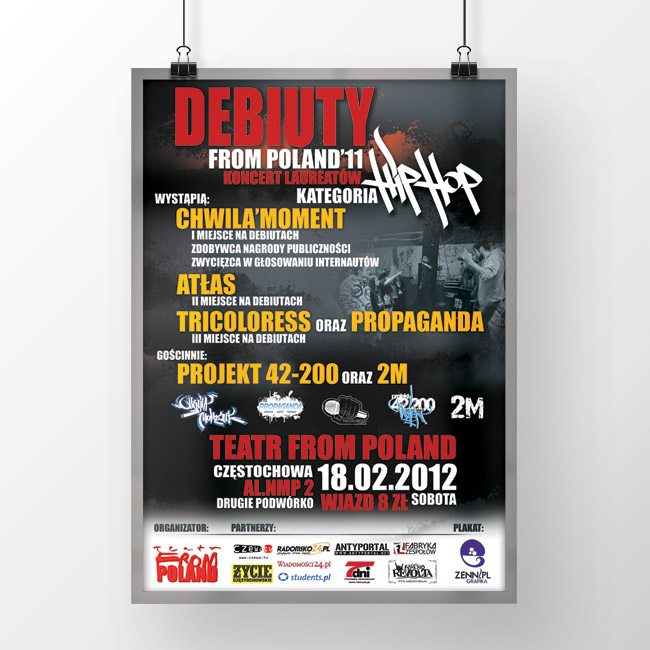 Koncert : Debiuty From Poland'11 [2012]
