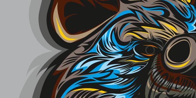 Roaring bear by enzore.pl