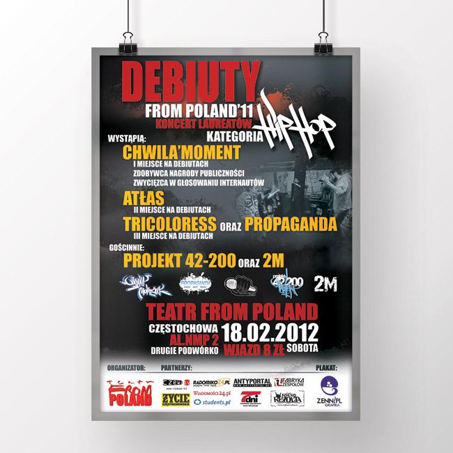 Koncert : Debiuty From Poland'11 [2012]