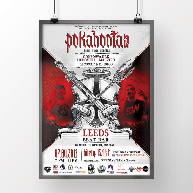 Koncert : Pokahontaz [2013]